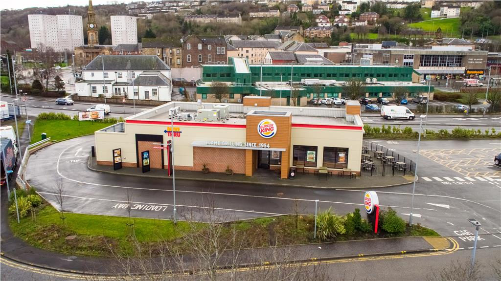 Burger King, 3 Anderson Street, Port Glasgow, Inverclyde, PA14 5EP