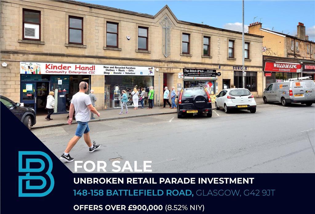 148-158 Battlefield Road, Glasgow, G42 9JT Image