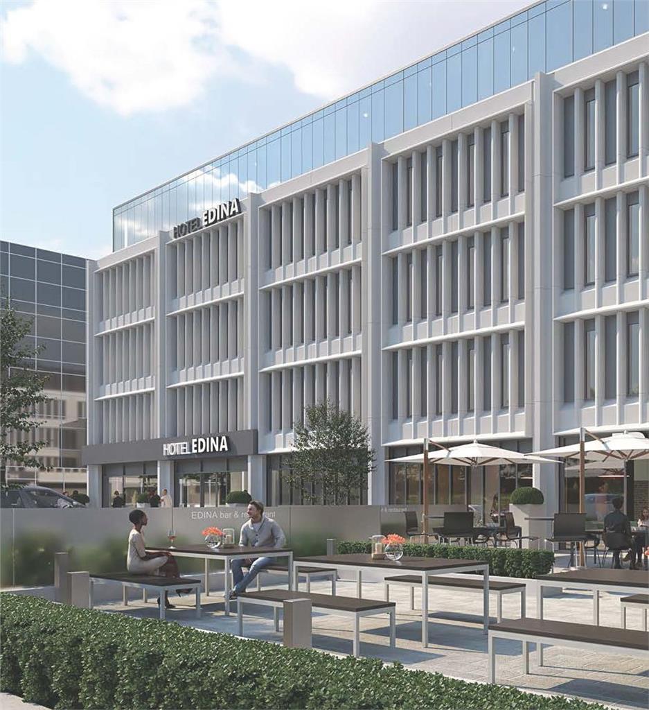 Strategic Hotel Development Opportunity, Osborne House, 1 Osborne Terrace, Edinburgh, EH12 5HG Image