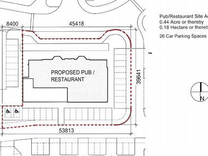 Proposed Pub/Restaurant Site, McIntyre Road, Kinnaird Village, Larbert, FK5 4GY Image