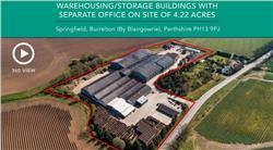 Warehousing/Storage Buildings, Springfield, Burrelton (By Blairgowrie), Perthshire, PH13 9PJ