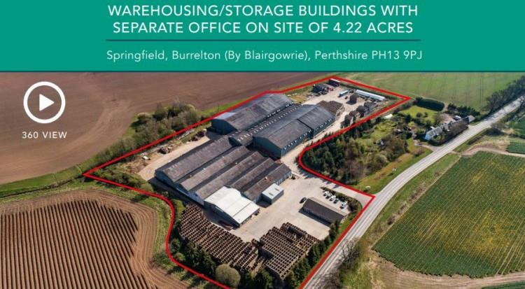 Warehousing/Storage Buildings, Springfield, Burrelton (By Blairgowrie), Perthshire, PH13 9PJ